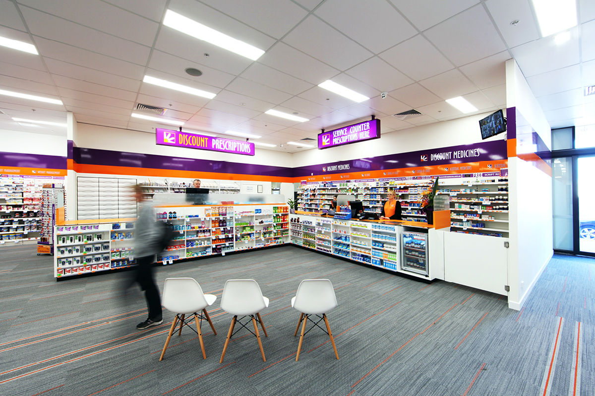 Chemist Interior Design Masterplanners Discount Drug Store