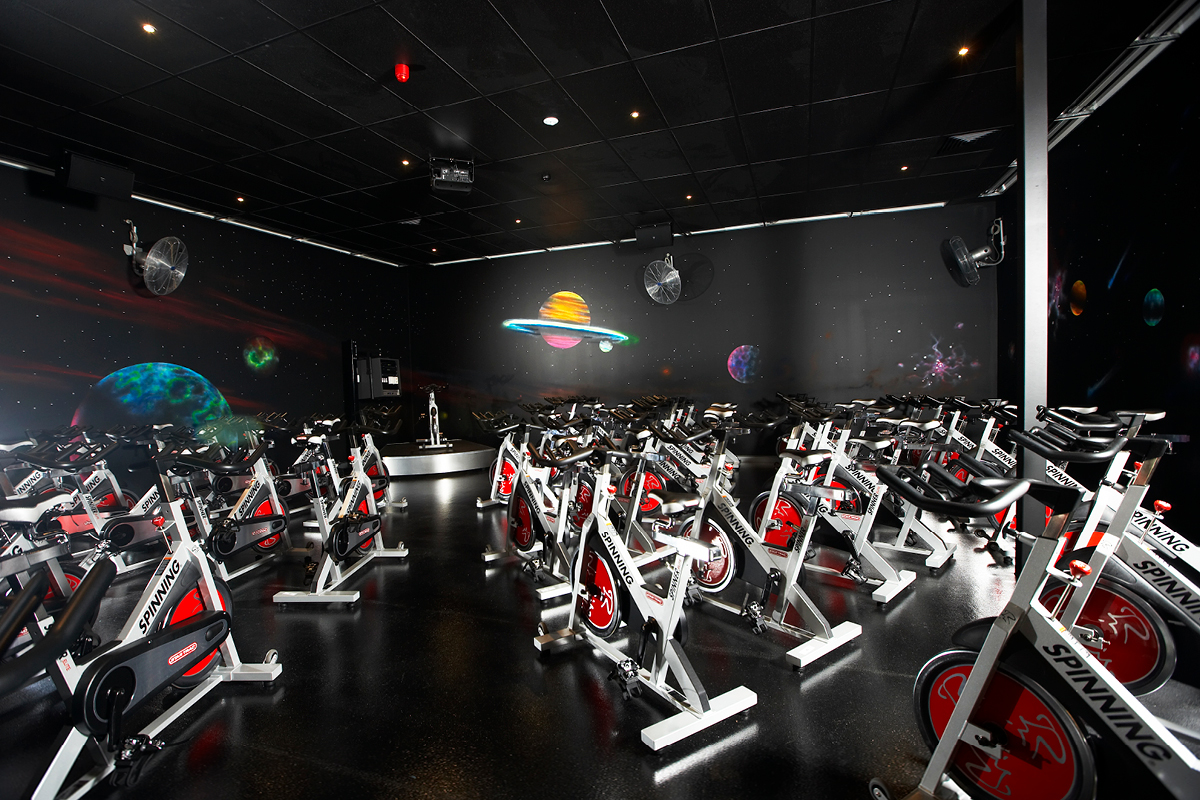 Gym Space Masterplanners Fitness First