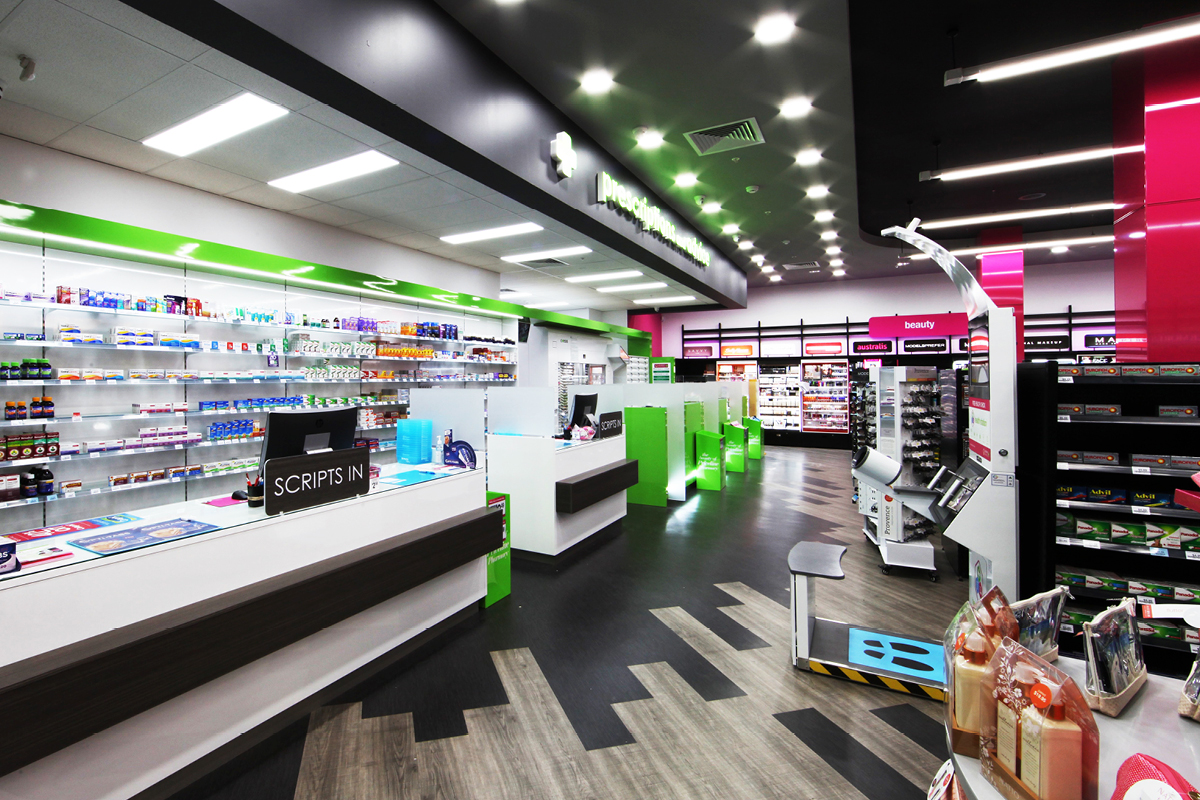 Pharmacy Interior Display Masterplanners Priceline Mandurah